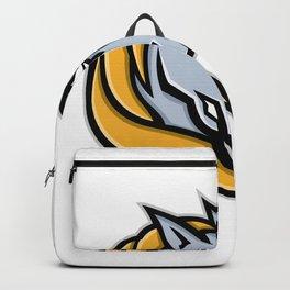 Unicorn Head Mascot Backpack