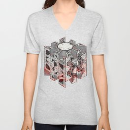 Hellraiser Puzzlebox D Unisex V-Neck