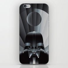 Deco Vader (design size 11x14) iPhone & iPod Skin