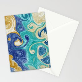 Earthy Marble Stationery Cards