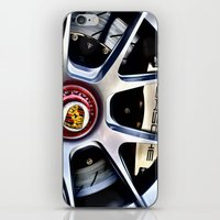 porsche iPhone & iPod Skins featuring Porsche Wheel by LeicaCologne Germany