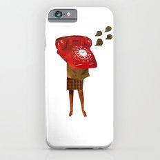 Mrs. Telephone Girl iPhone 6s Slim Case