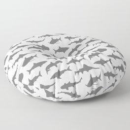 Grey Sharks Floor Pillow