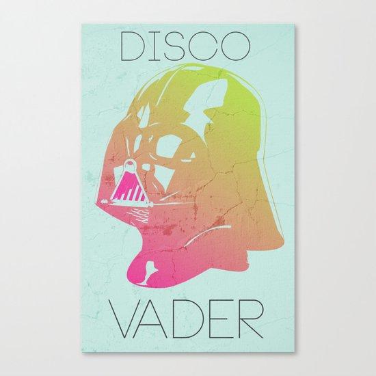 Disco Vader Canvas Print