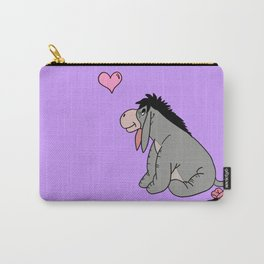 Eeyore Purple Carry-All Pouch