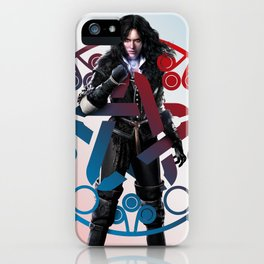 Yennefer of Vengerberg and her obsidian star - The Witcher iPhone Case