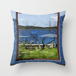 The Great Wall Box Throw Pillow