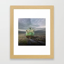 atmosphere · stranded Framed Art Print