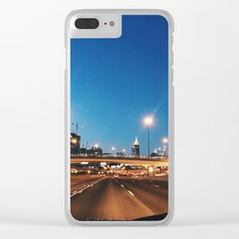 Atlanta Sunrise Clear iPhone Case