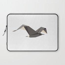 Origami Seagull Laptop Sleeve