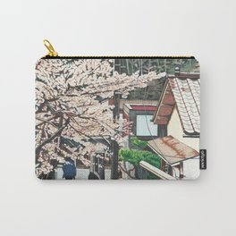 Passing by Cherry Blossoms Carry-All Pouch