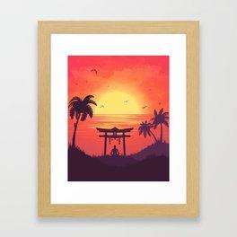 Meditaton Framed Art Print