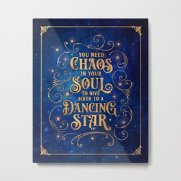 Dancing Star Metal Print