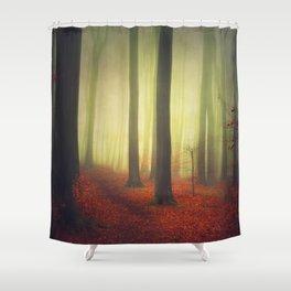 Magic Woodland Shower Curtain
