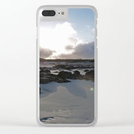 Connemara Coast #2 Clear iPhone Case