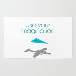 Use your imagination Rug
