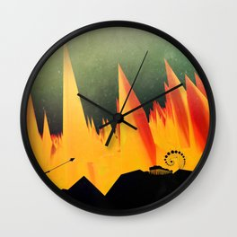Dante's Inferno: Circle of Herecy Wall Clock