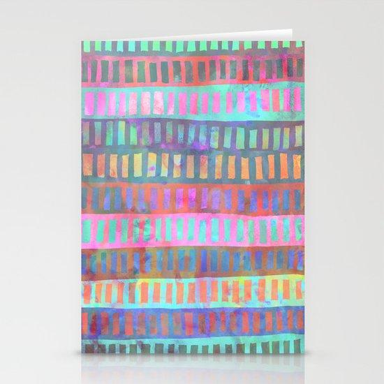 PATTERN {Geometric 002} Stationery Cards