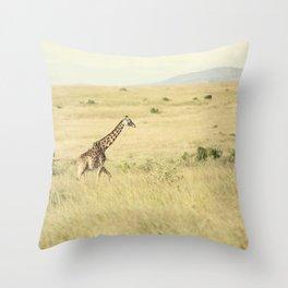 journey::kenya Throw Pillow