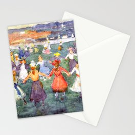 "Maurice Prendergast ""May Day"" Stationery Cards"