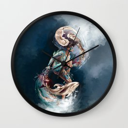 Sedna: Inuit Goddess of the Sea Wall Clock