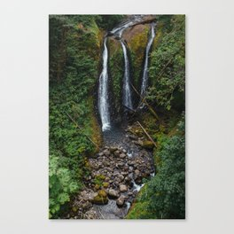 Triple Falls Canvas Print