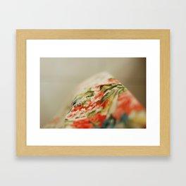 Flower Abstract #01 Framed Art Print
