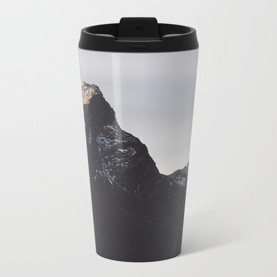 Dark Mountains #society6 #buyart Metal Travel Mug