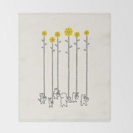 Seeds of hope Throw Blanket