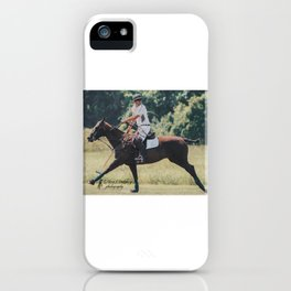 Bay Cantering Polo Pony iPhone Case