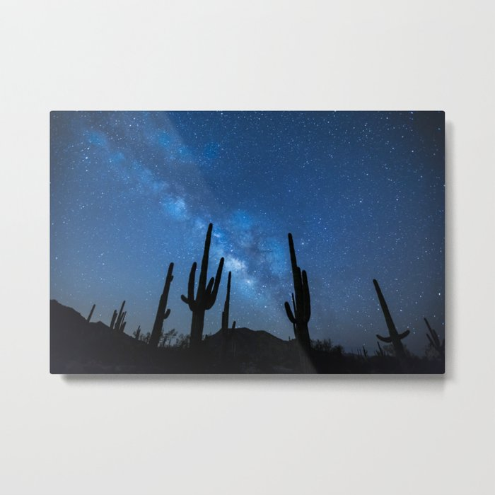 Milkyway Desert Metal Print