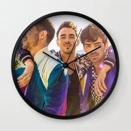 jonas brothers happiness begins 2021 desem Wall Clock