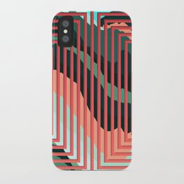 TOPOGRAPHY 2017-012 iPhone Case