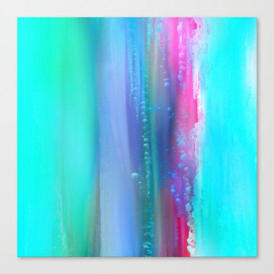 Ice Curtain 5 Canvas Print