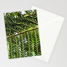 Feather Leaves Stationery Cards