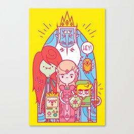 The Legend of Adventure Canvas Print