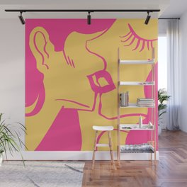 French Kiss Wall Mural