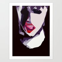 sin city Art Prints featuring Sin City by Javier Martinez
