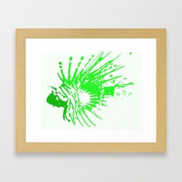 Scorpleonfish 1.3 Framed Art Print