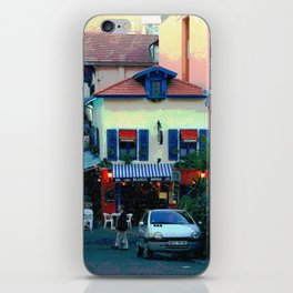 Chez Blanco iPhone Skin