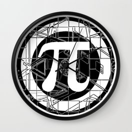Ultimate pi symbol 3. Wall Clock