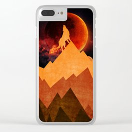 Golden Nighter Clear iPhone Case