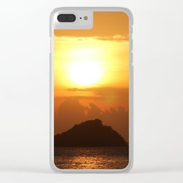 Andaman Sunset Clear iPhone Case