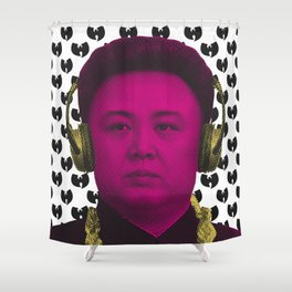 Kim Jong ILL Shower Curtain