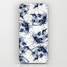 Skull Pattern iPhone Skin