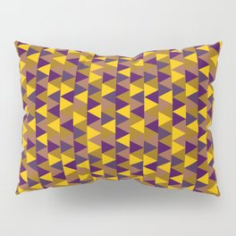 Funky Triangles Pillow Sham