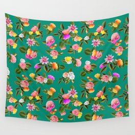 Frida Floral Wall Tapestry