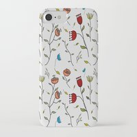 spice iPhone & iPod Cases featuring Floral Spice by Itaya Art