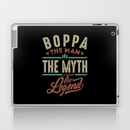 Boppa The Myth The Legend Laptop & iPad Skin