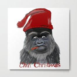 Chilli Christmas Metal Print